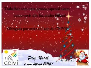 Mensagem de Natal do CEIVI !!!